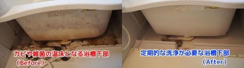 浴室(お風呂)クリーニング 高崎市