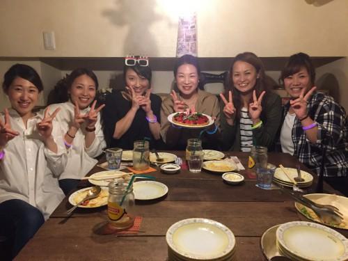 メルポでBIRTHDAY  PARTY!!