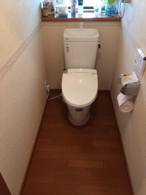 刈谷市 K様邸 トイレ工事です