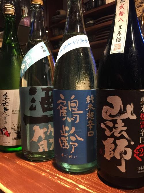 今週入荷の日本酒!(鶴齢・酒一筋・美丈夫)