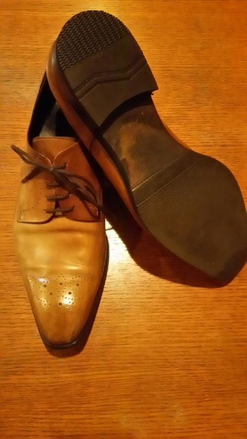 靴の修理 紳士靴