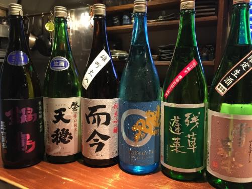 今週入荷の日本酒!(雪の茅舎・残草蓬莱・龍力・而今・鍋島)