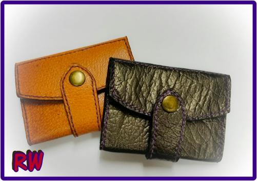 ハンドメイド★小さな財布コインケース&カード入れ