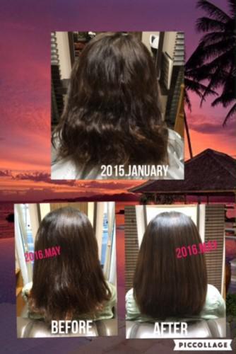 髪はオージュアヘアで必ずキレイになる♪