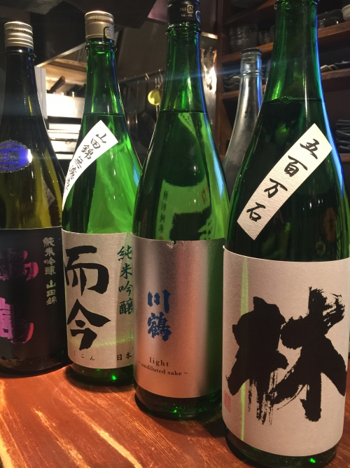 今週入荷の日本酒!(林・川鶴・而今・鍋島)
