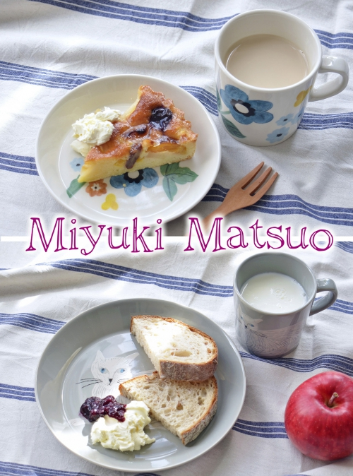 愛らしい『松尾ミユキ』さんの食器