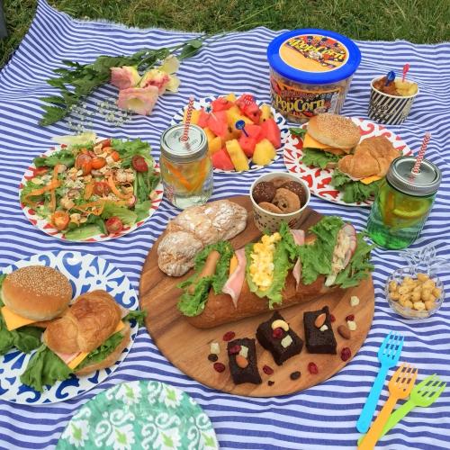 航空公園へピクニックへ