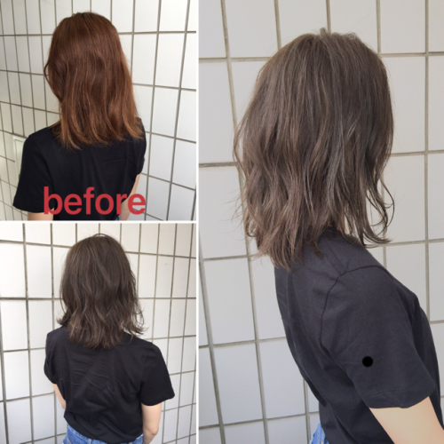 《before→after》今話題なTHROWカラーの魅力!