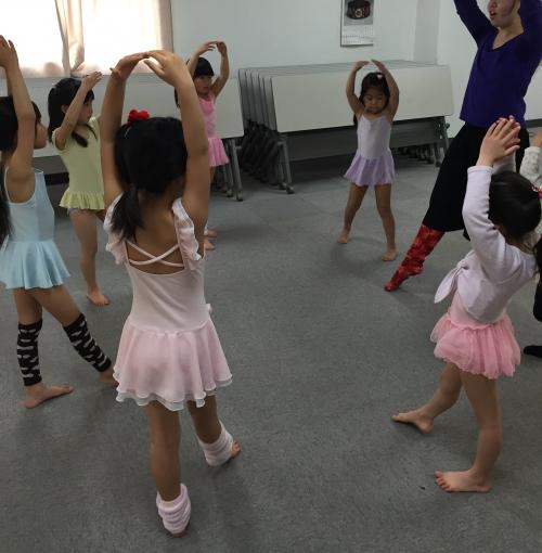 体験レッスン  モダンバレエ  妙蓮寺クラス