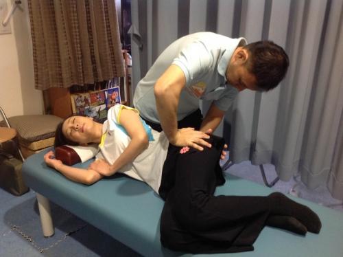 神奈川県仙腸関節障害 整体院で施術