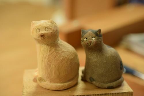 手作りネコ