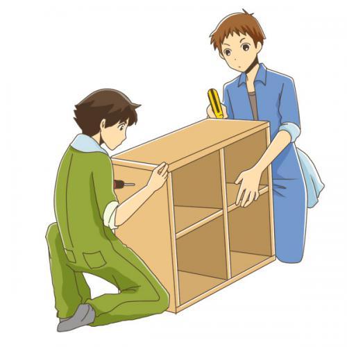 東京都にて組立、日曜大工、家具の解体 便利屋レスキュー