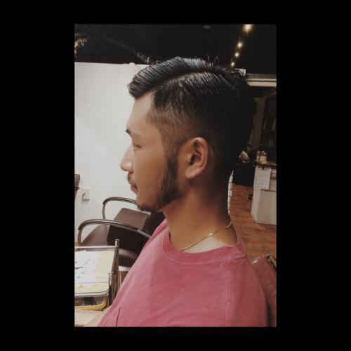 刈り上げ 7:3 新潟 理容室 barber
