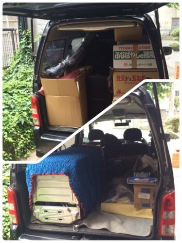 江戸川区 引越サポート 冷蔵庫,組立式棚,段ボール 格安