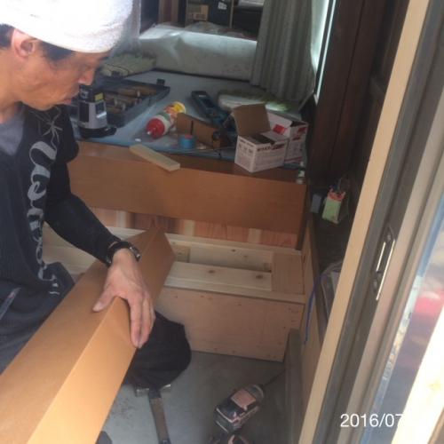 玄関框リフォーム名古屋