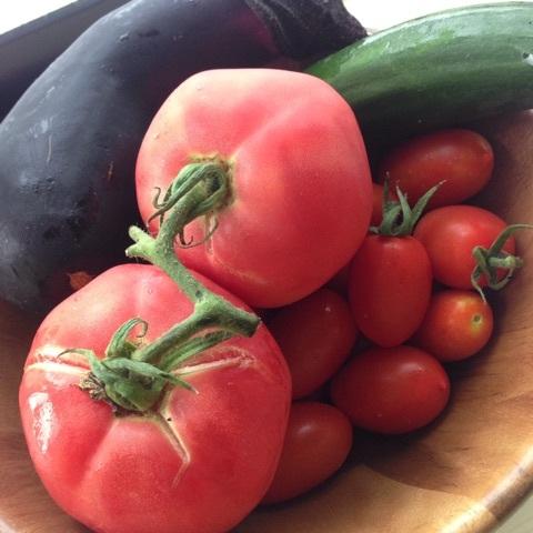 【健康美容食】ほてった体に茄子料理♪