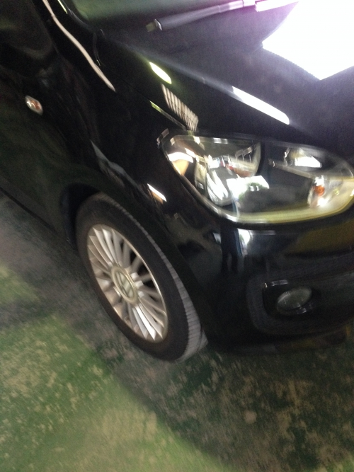 VW UP フォルクスワーゲン アップ 板金塗装 終了