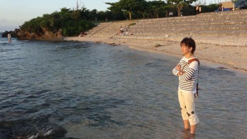 7月 沖縄にて