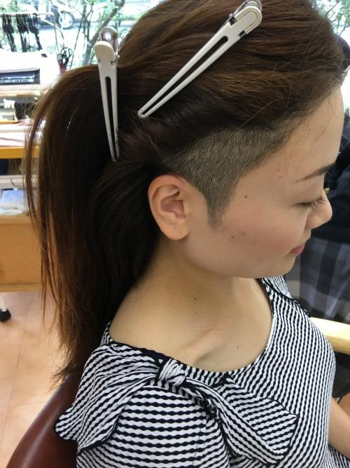 調布美容院のおすすめツーブロックヘアスタイル