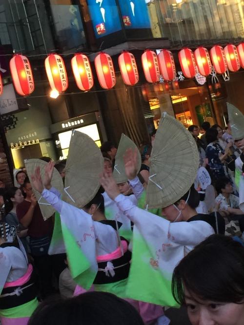 特別レッスン、そして神楽坂のお祭りへ♪