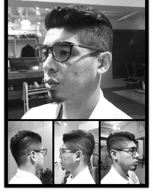 メンズヘア  ツーブロックスタイル