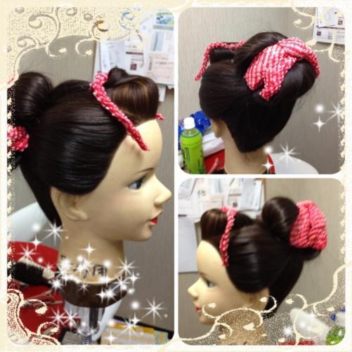 七五三の日本髪