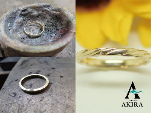 形見の指輪を溶かし新たな指輪に