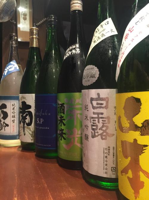 今週入荷の日本酒!(山本・栄光富士・来福・南・万齢)