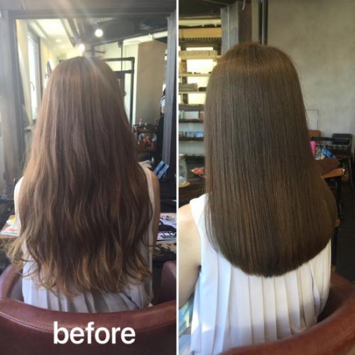 乾かすだけでさらさら艶髪な内巻きに!触りたくなる髪の作り方