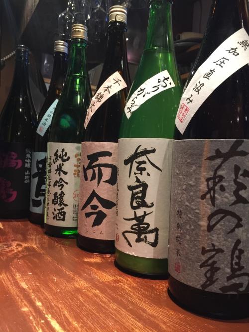 今週入荷した日本酒!(萩の鶴・奈良萬・而今・貴・鍋島)