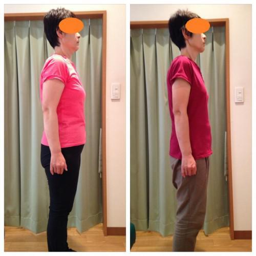 50代女性★3ヶ月で-12kg!お腹の脂肪が落ちました♪*゚