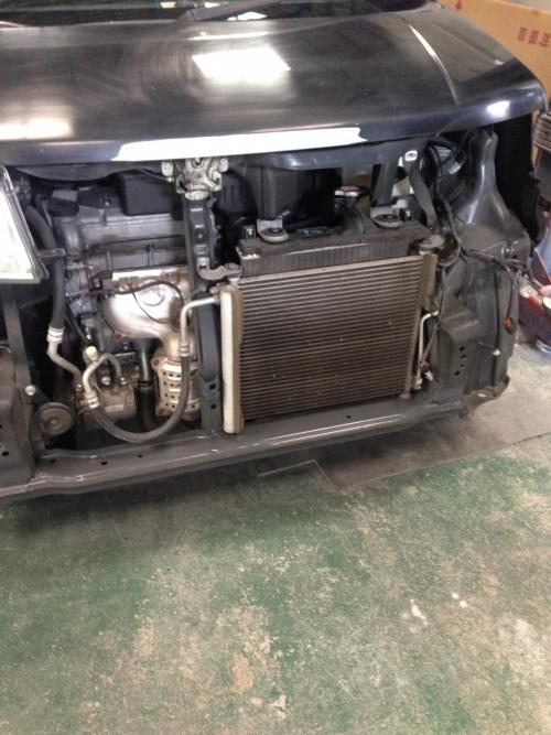ワゴンR フロント事故 修理