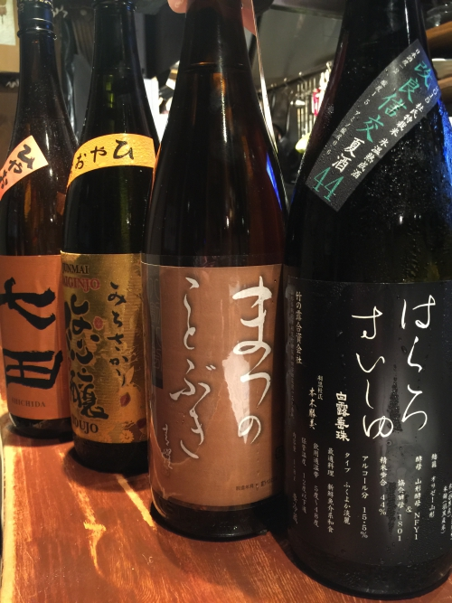今週入荷の日本酒!(天の戸・姿・三千盛・羅生門・七田)