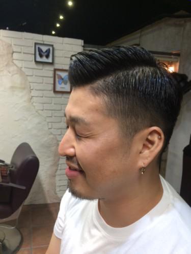 メンズヘア 理容室 barber tattoo 新潟