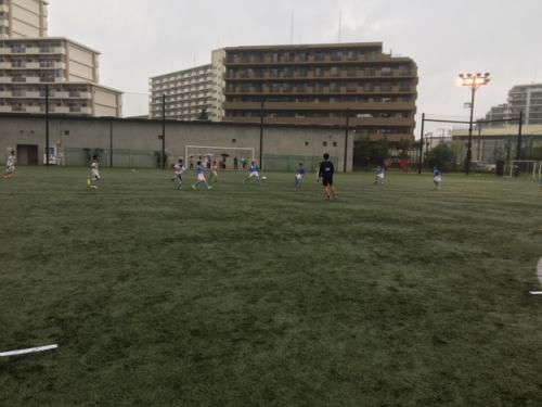 水戸市サッカーチーム活動ポルターラ東京遠征