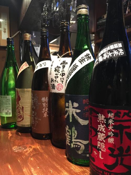 今週入荷の日本酒!(新政・栄光富士・鶴齢・大信州)