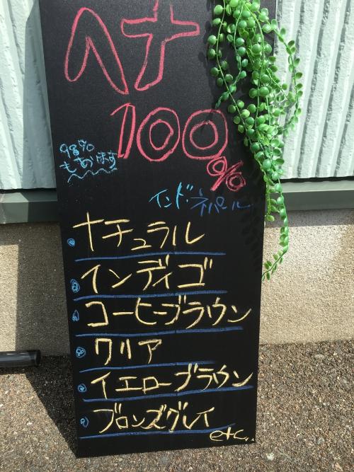 ヘナ100%  98%  エコサート