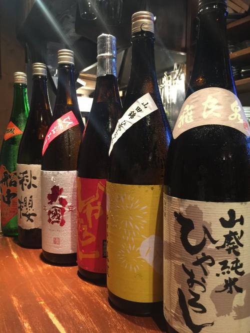 今週入荷の日本酒!(飛良泉・春霞・北安大国・船中八策)