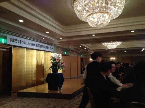 今日 横浜医専の7期生卒業謝恩会に出席しました