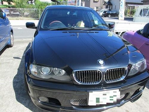 BMW の天井張替えをしました~(3シリーズ E46)