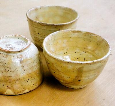 御本手(ごほんで)の茶碗。陶芸教室 東京 国立けんぼう窯