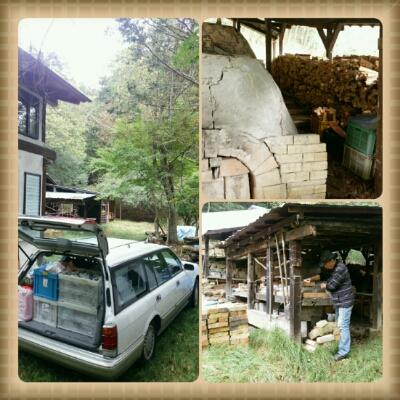 陶芸教室 東京国立けんぼう窯。登り窯焼成に向けて施設の清掃