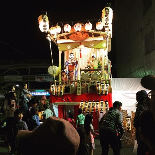 川越祭りはひびきのやきとりで