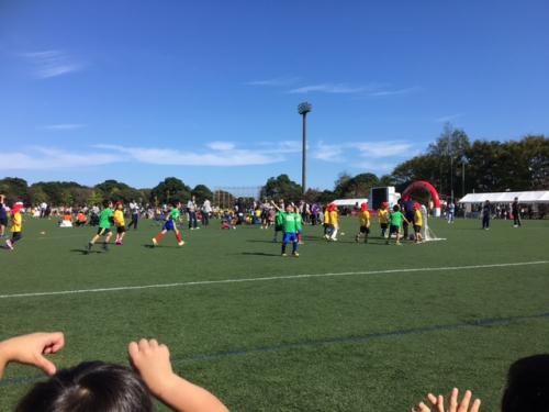水戸市幼稚園、保育園サッカー活動