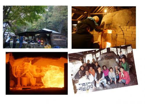 登り窯焼成無事に終了しました。陶芸教室 東京国立けんぼう窯