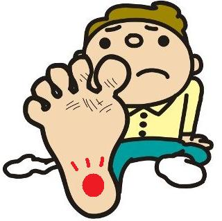 足裏のかかとの痛みについて