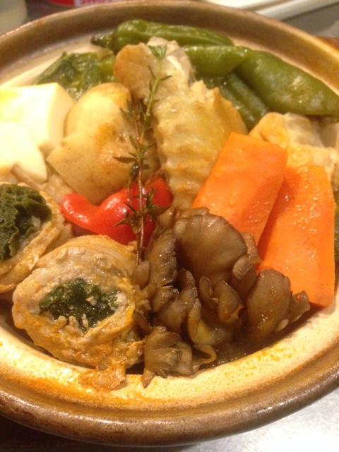 【料理】天草島のHOTPOT鍋