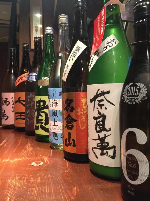 今週入荷した日本酒(新政・奈良萬・貴・七田・鍋島)