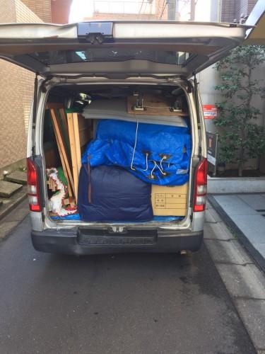 東京都、ハイエース、お引越し・不用品回収サポート