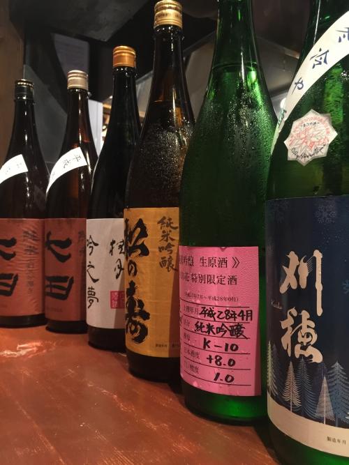 今週入荷の日本酒(刈穂・まんさくの花・七田・桂月)